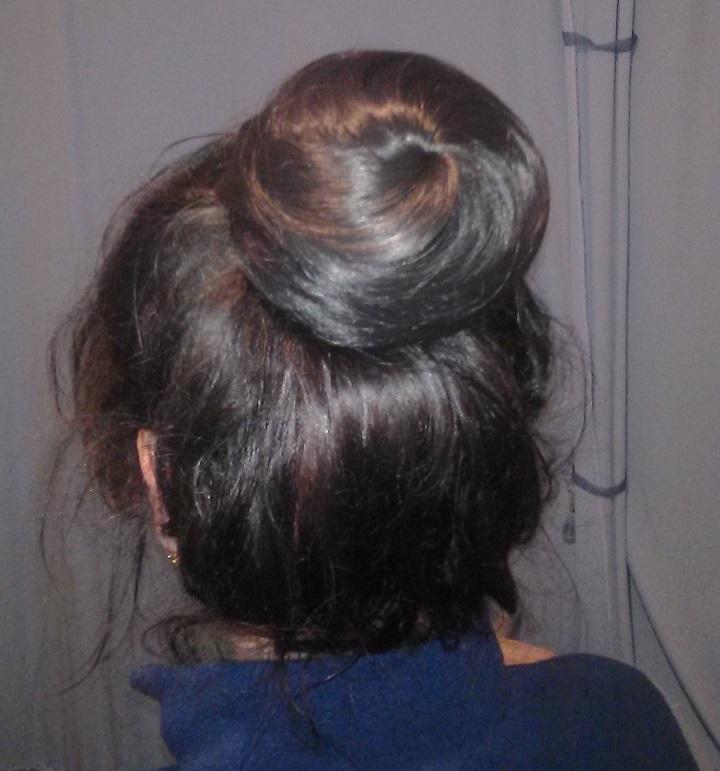 отзыв пучок из волос