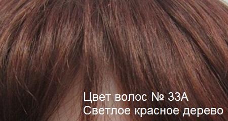 Натуральные волосы. Цвет волос светлое красное дерево.