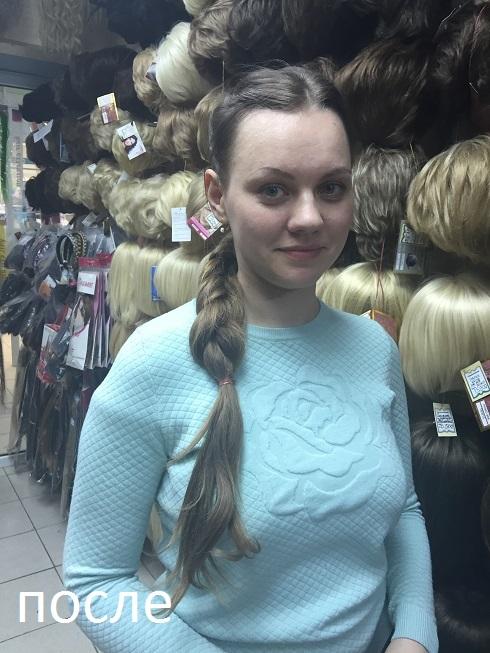 коса натуральная фото