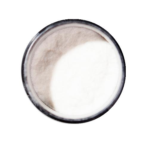 Пудра загуститель для волос цвет белый