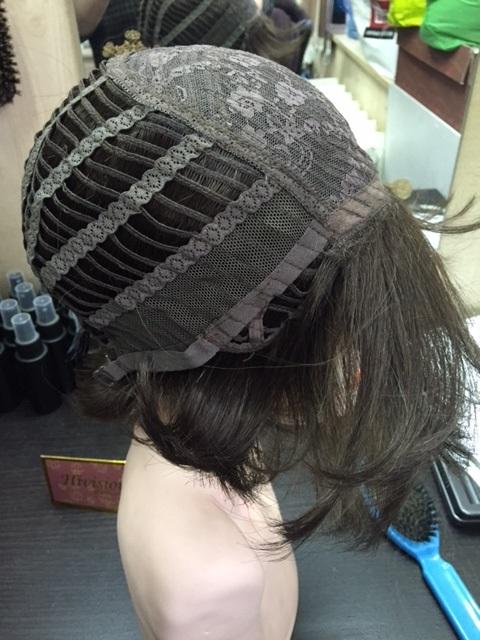 Купить парик.Вид изнутри