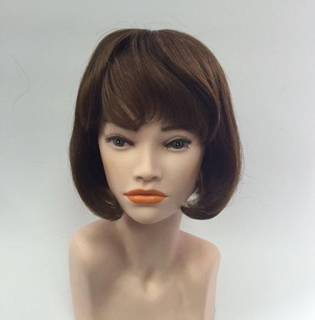 Натуральный парик каре 555