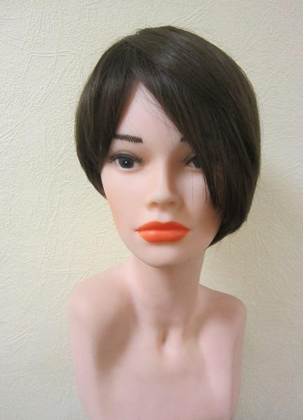 Натуральный парик НМ 141. Ассиметричная стрижка