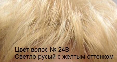 Натуральные волосы. Цвет волос светло-русый желтого оттенка.