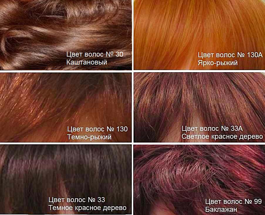 Челка из натуральных волос. Рыжие оттенки волос