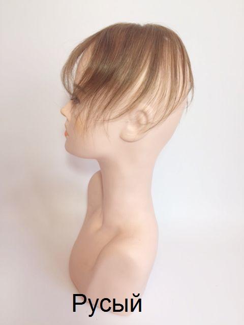 накладки из натуральных волос на теменную часть