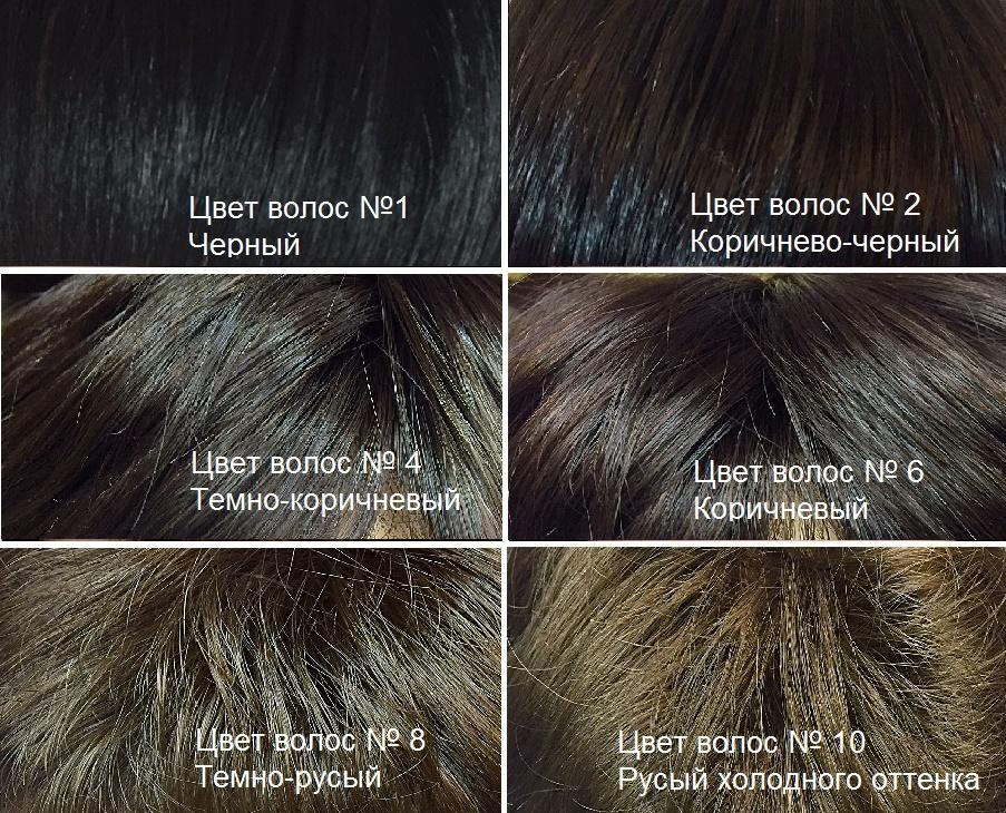 Искусственные волосы. Канекалон. Темные оттенки волос