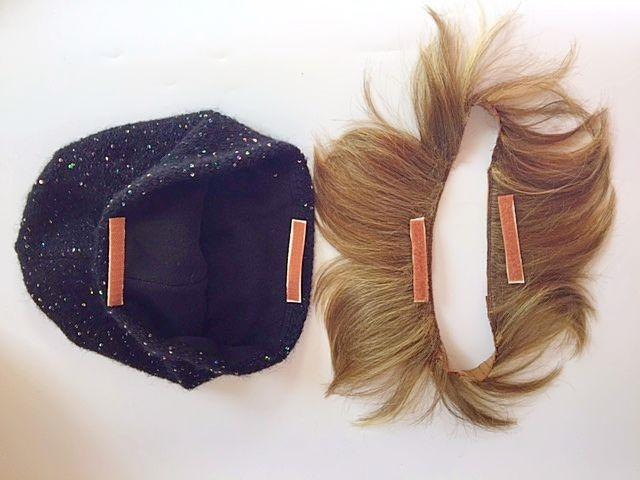 Накладные волосы пряди под шапку