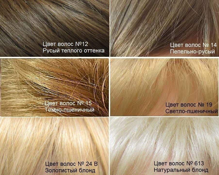 Искусственные волосы. Светлые оттенки волос