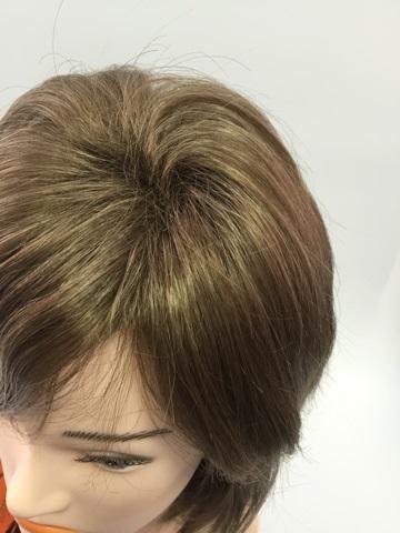 Натуральный парик фото сверху