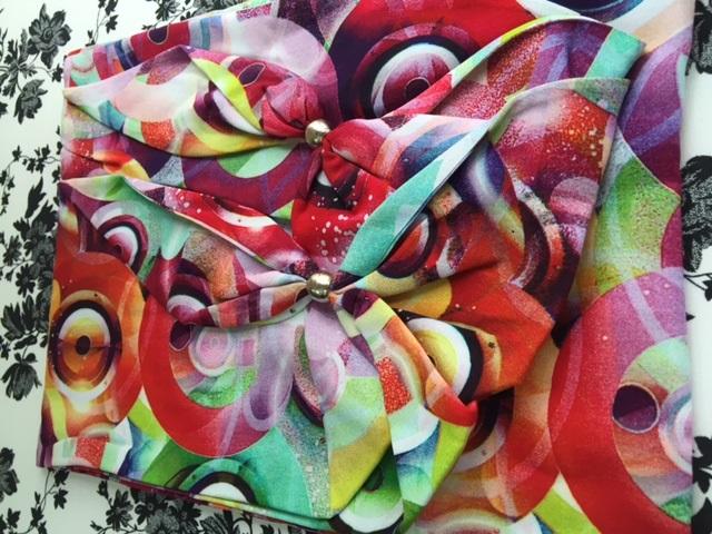 Платок чалма расцветки