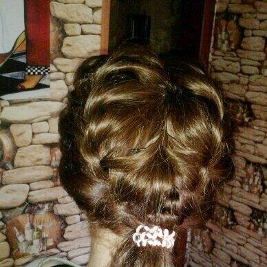 Натуральные волосы. Накладка.